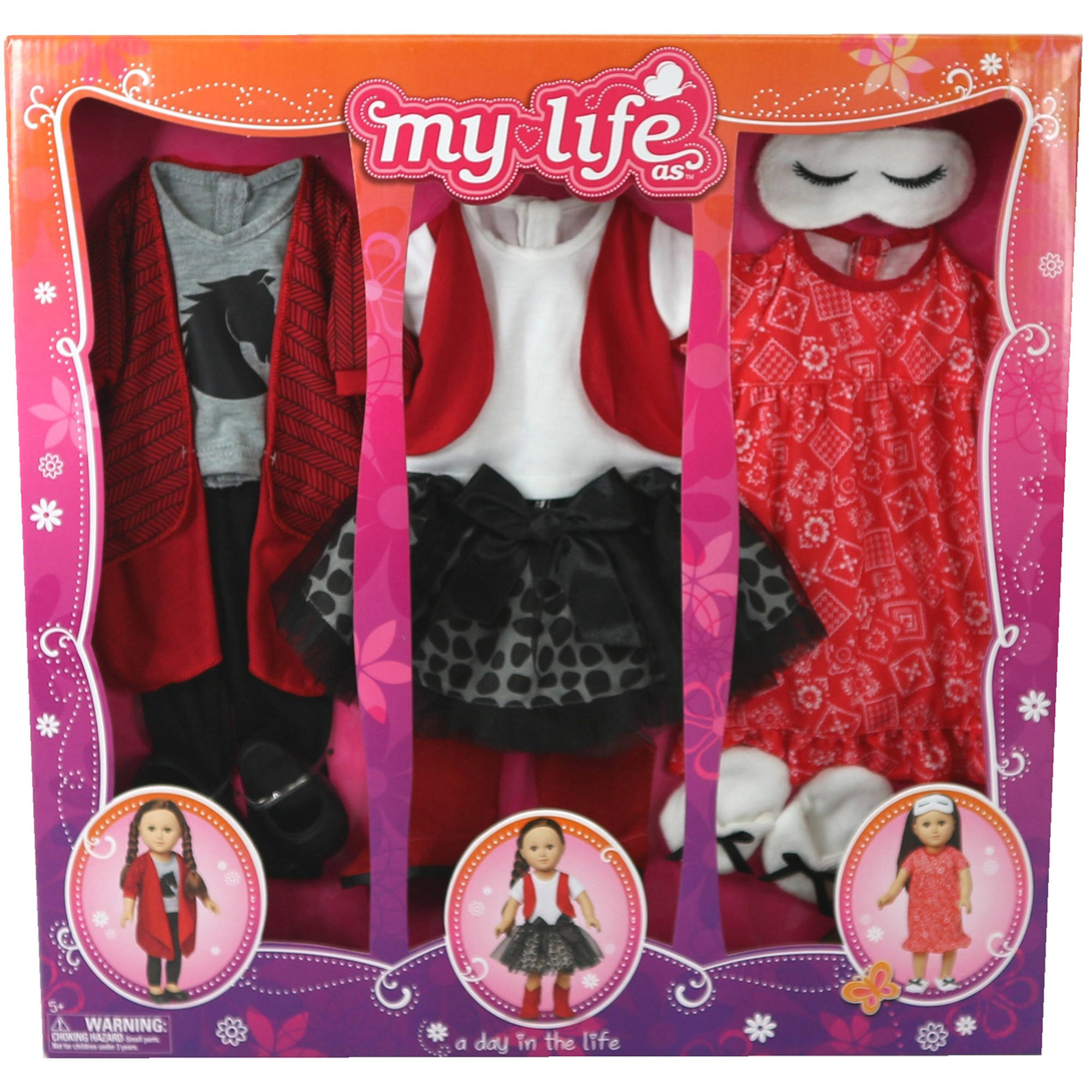 My Life As A Day in the Life Doll Clothing Set, Cowgirl