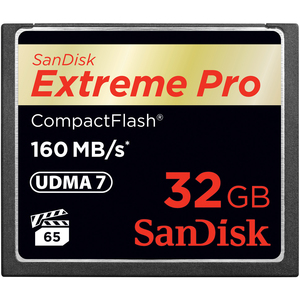 SanDisk Sdcfxps-032g-a46 Extreme Pro CompactFlash Memory Card, 32GB