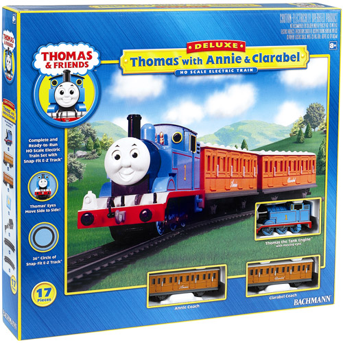 Thomas & Friends Thomas Train with Annie and Clarabel Trains - Play Set