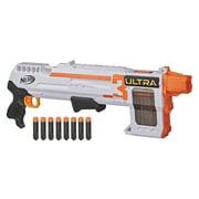 Nerf Ultra Three Blaster, Pump-Action, 8-Dart Clip, 8 Nerf Ultra Darts