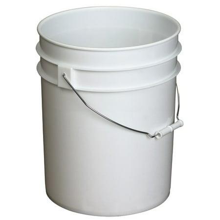 5 Gallon Buckets Bulk (5 Gallon Bucket, White)