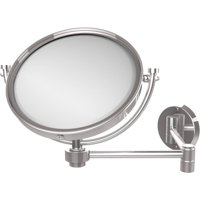 "8"" Wall-Mounted Extending Make-Up Mirror, 2x Magnification (Build to Order)"