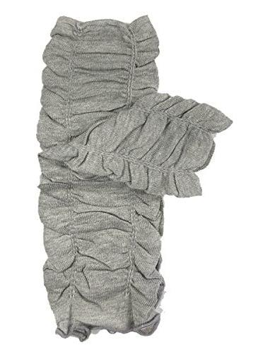 ALLYDREW Solid Baby Leg Warmer & Solid Toddler Leg Warmer for Boys & Girls, Scrunch Gray