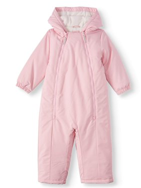 Wonder Nation Toddler Girl One-Piece Snowsuit