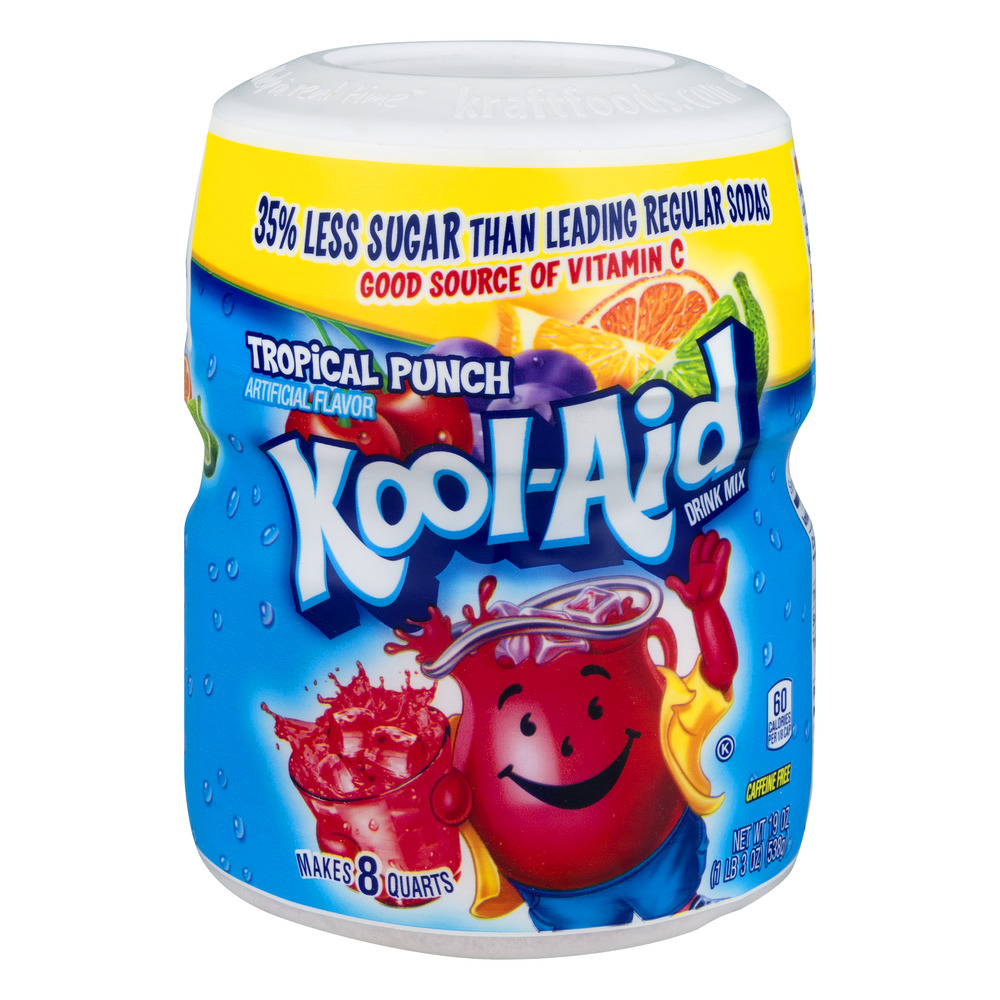 Kool-Aid Drink Mix Tropical Punch, 19.0 OZ