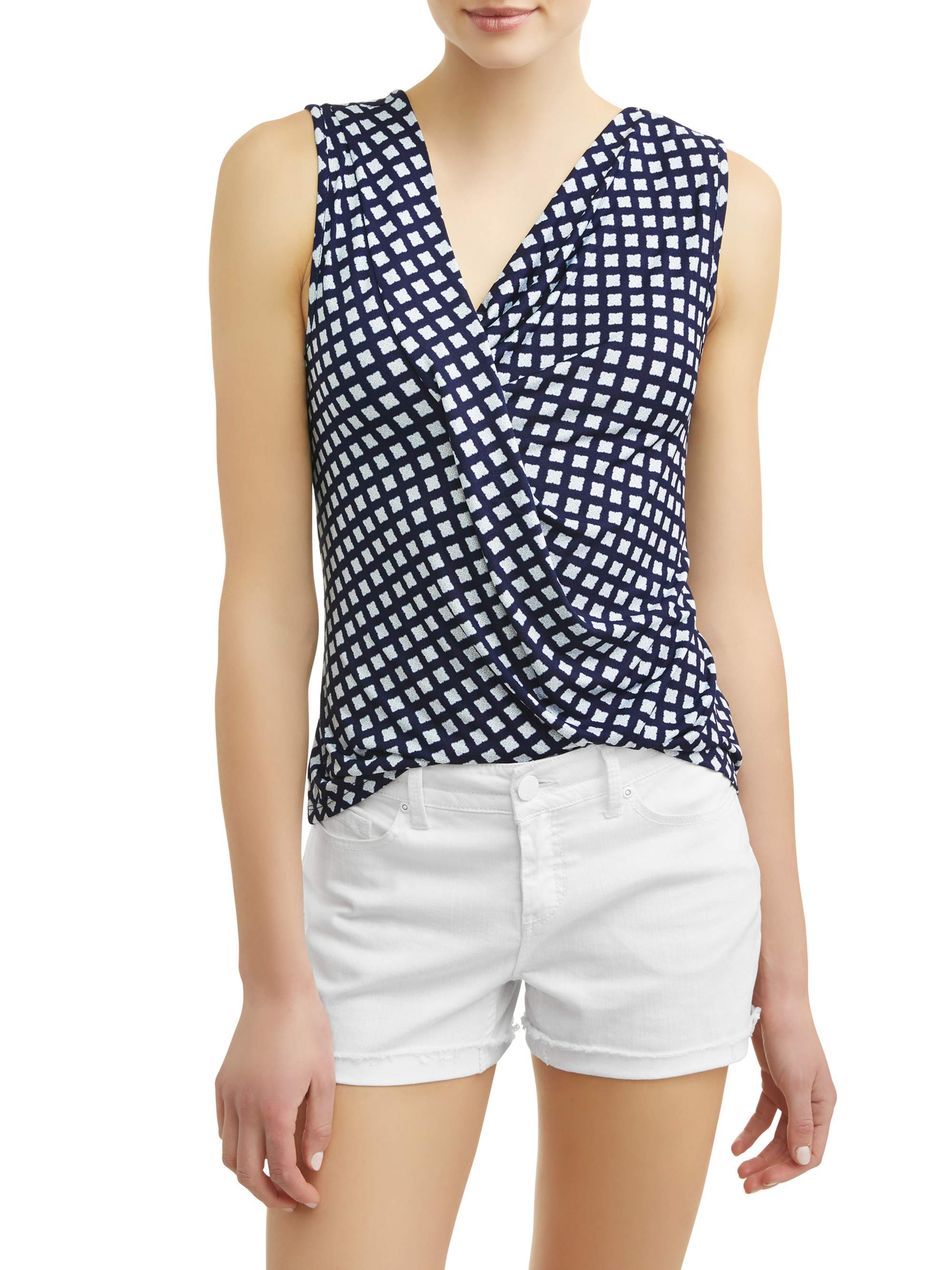 Women's Drape Neck Tank Top