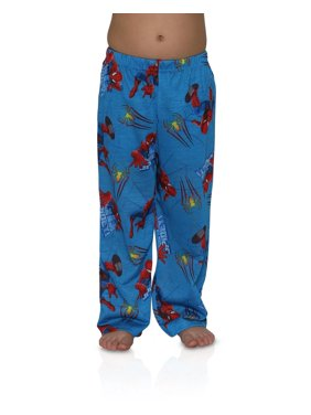 Spider-Man Soft Pajama Lounge Pants for Boys Sleepwear Pack of 2, 2 Pack, Size: Large / 8