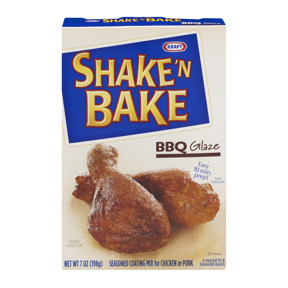 Kraft Shake 'N Bake Seasoned Coating Mix BBQ Glaze, 7.0 OZ