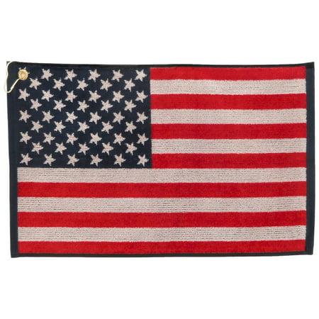 American Flag Golf Towel 16