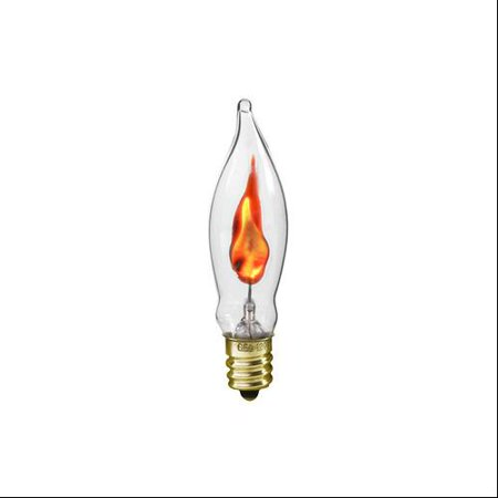 Pack of 2 Clear Flicker Flame Candle Lamp Replacement Light Bulbs ...:... Pack of 2 Clear Flicker Flame Candle Lamp Replacement Light Bulbs,Lighting