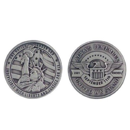 Always Remember 9/11 Challenge Coin