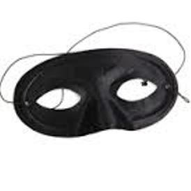 Halloween Costume Ideas For Masquerade Masks (Black Domino Half Mask Mardi Gras Costume Masquerade)