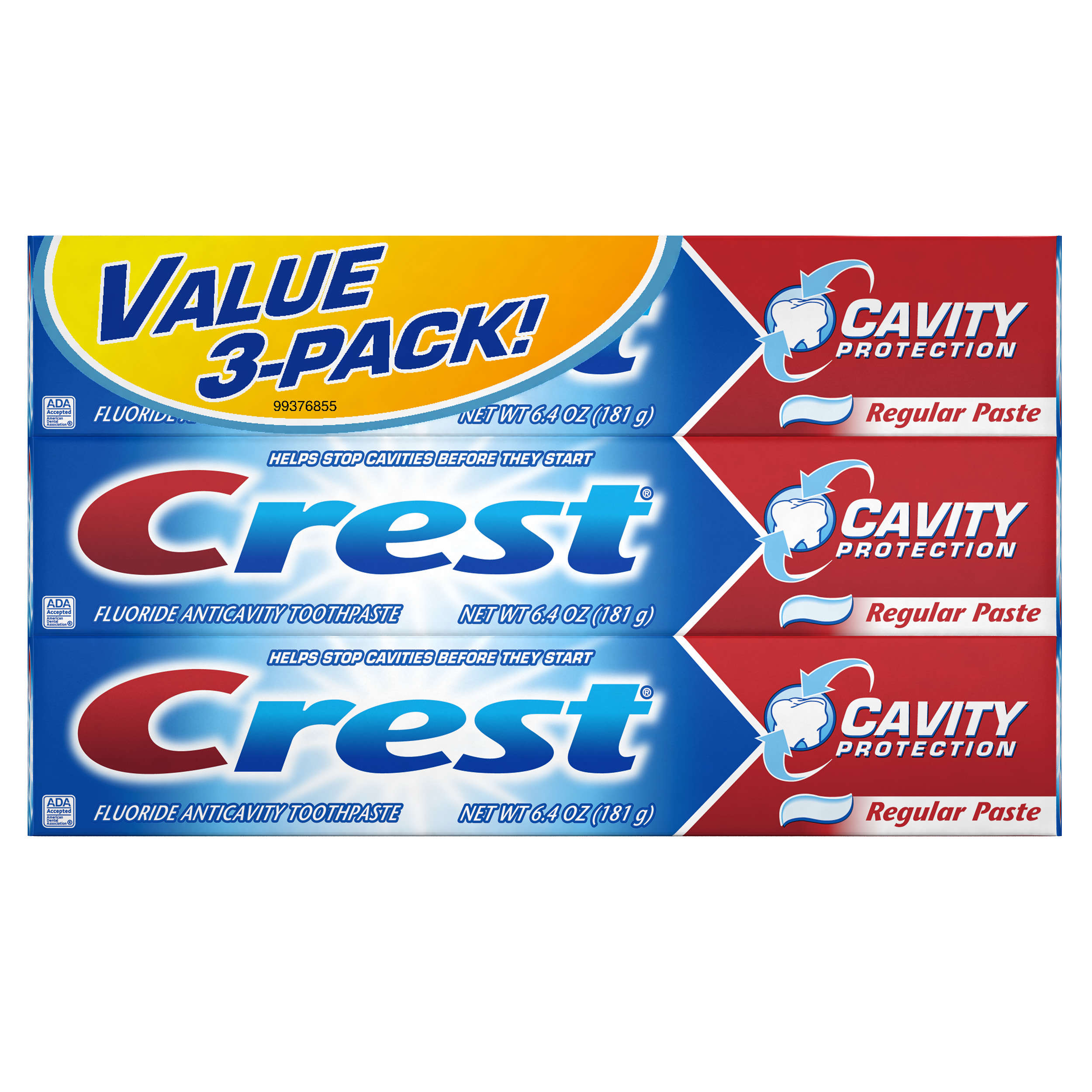 Crest Cavity Protection Toothpaste 6.4 oz., TRIPLE