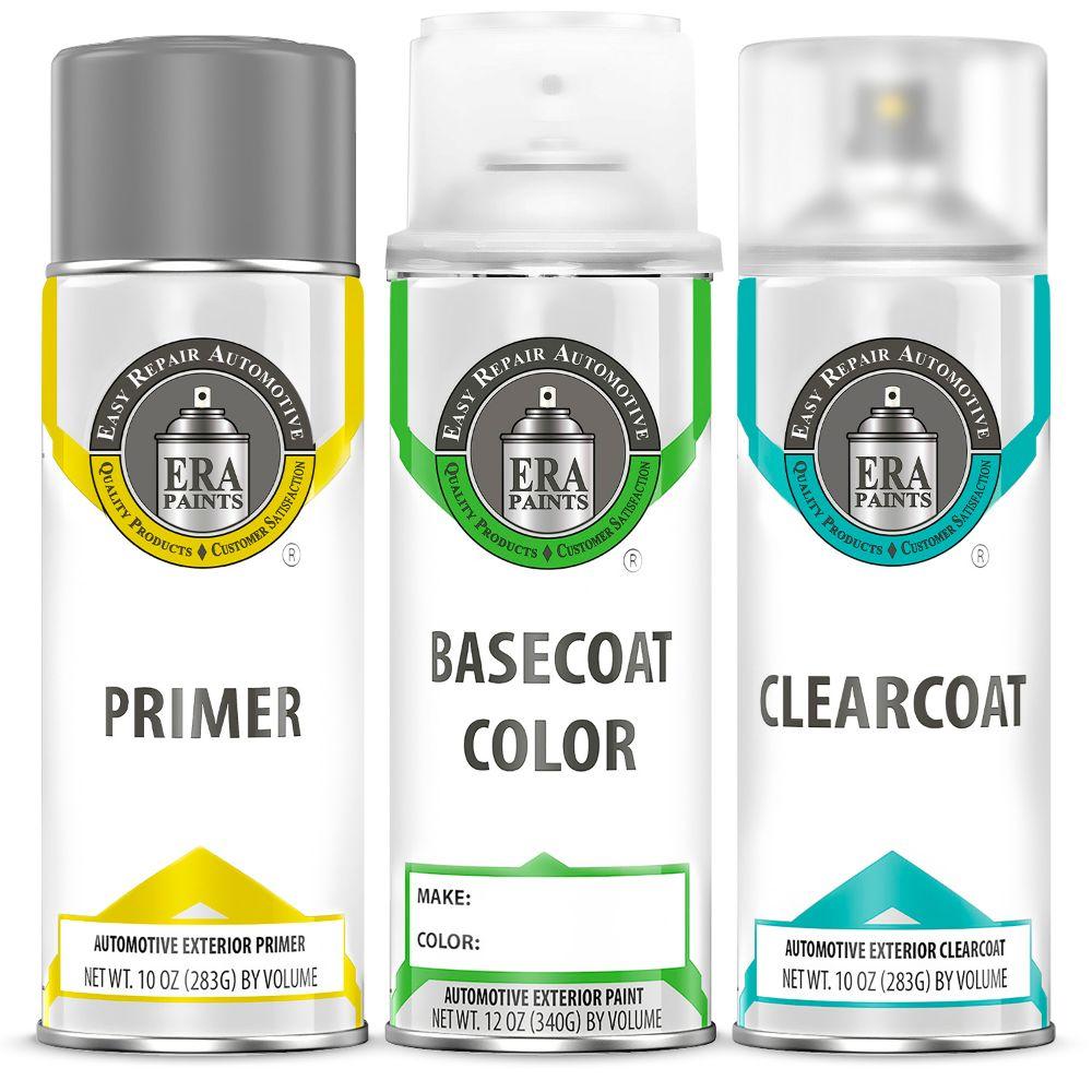 ERA Paints Chrome Silver Metallic Spray Paint Kit