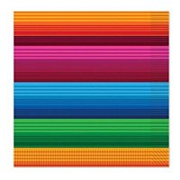 Beistle Fiesta Luncheon Napkins, Multicolored