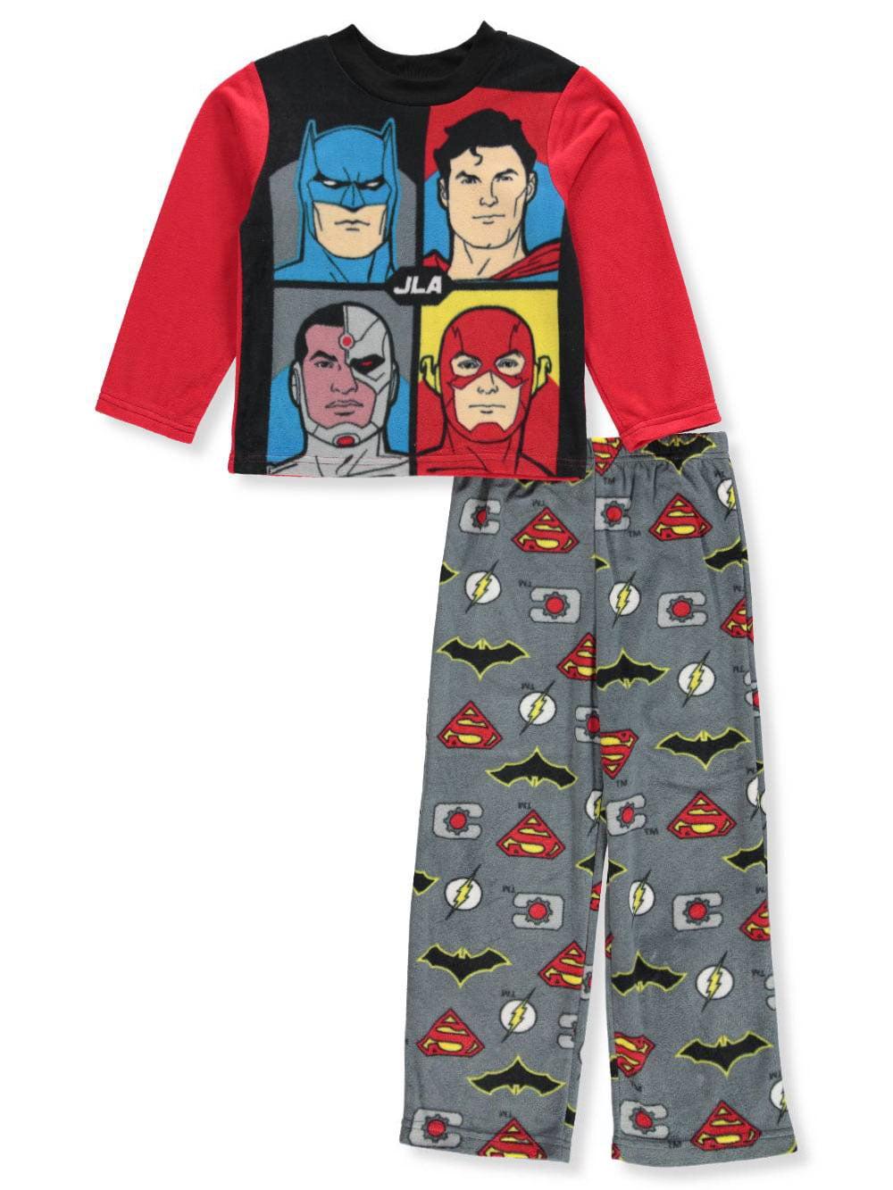 Justice League Boys' 2-Piece Pajamas