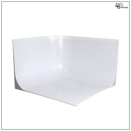 Tabletop Photo Studio (Seamless White Mini Photo Studio Seamless Cyclorama Background Setup for Tabletop Product Photography by Loadstone Studio WMLS0151 )