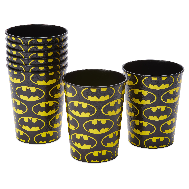 American Greetings Batman Party Supplies Plastic Treat Bags 8-Count