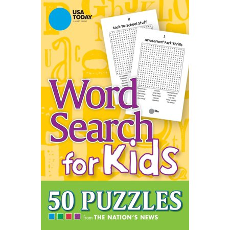 USA TODAY Word Search for Kids : 50 Puzzles
