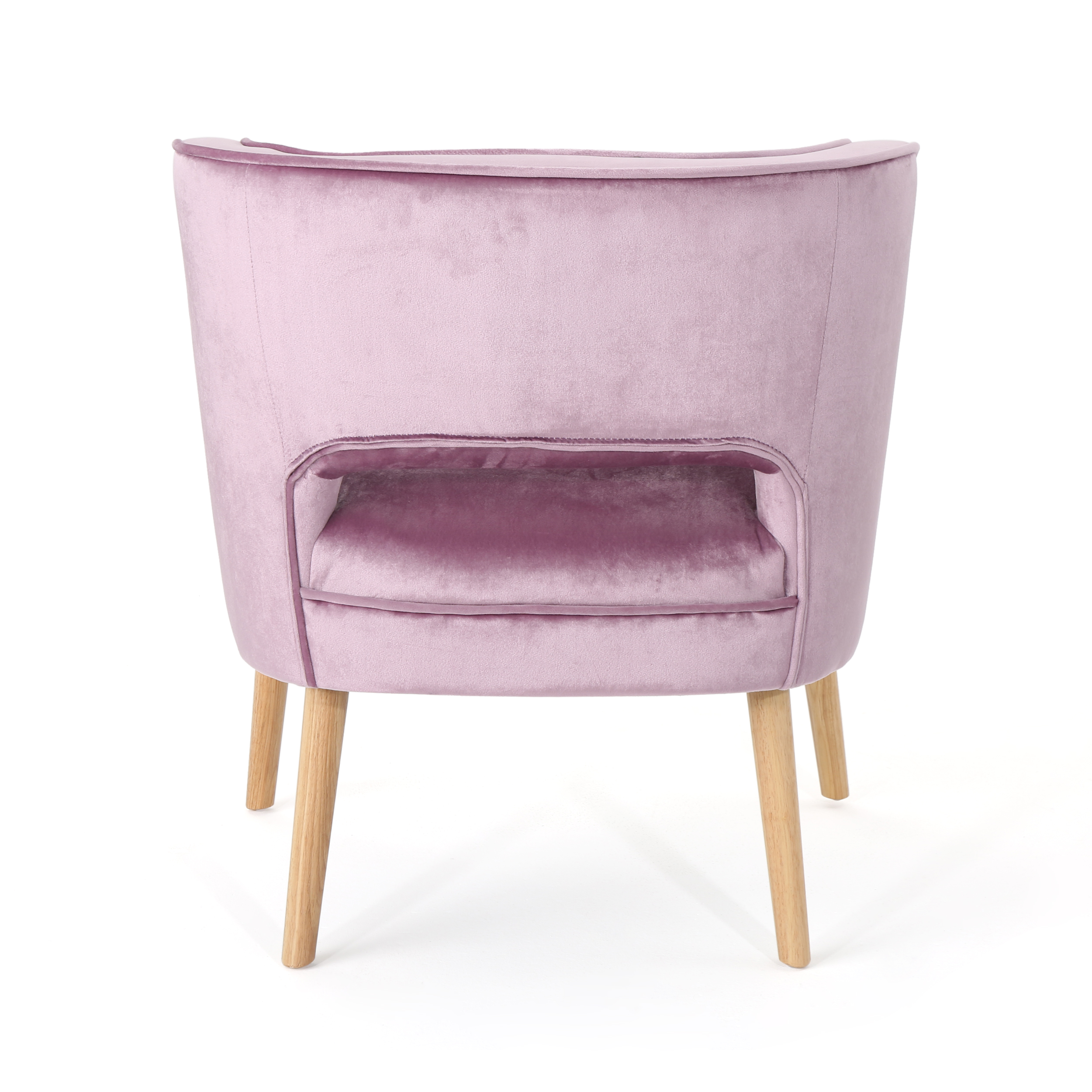 Picture of: Michaela Mid Century Velvet Accent Chair Light Lavender Walmart Com Walmart Com