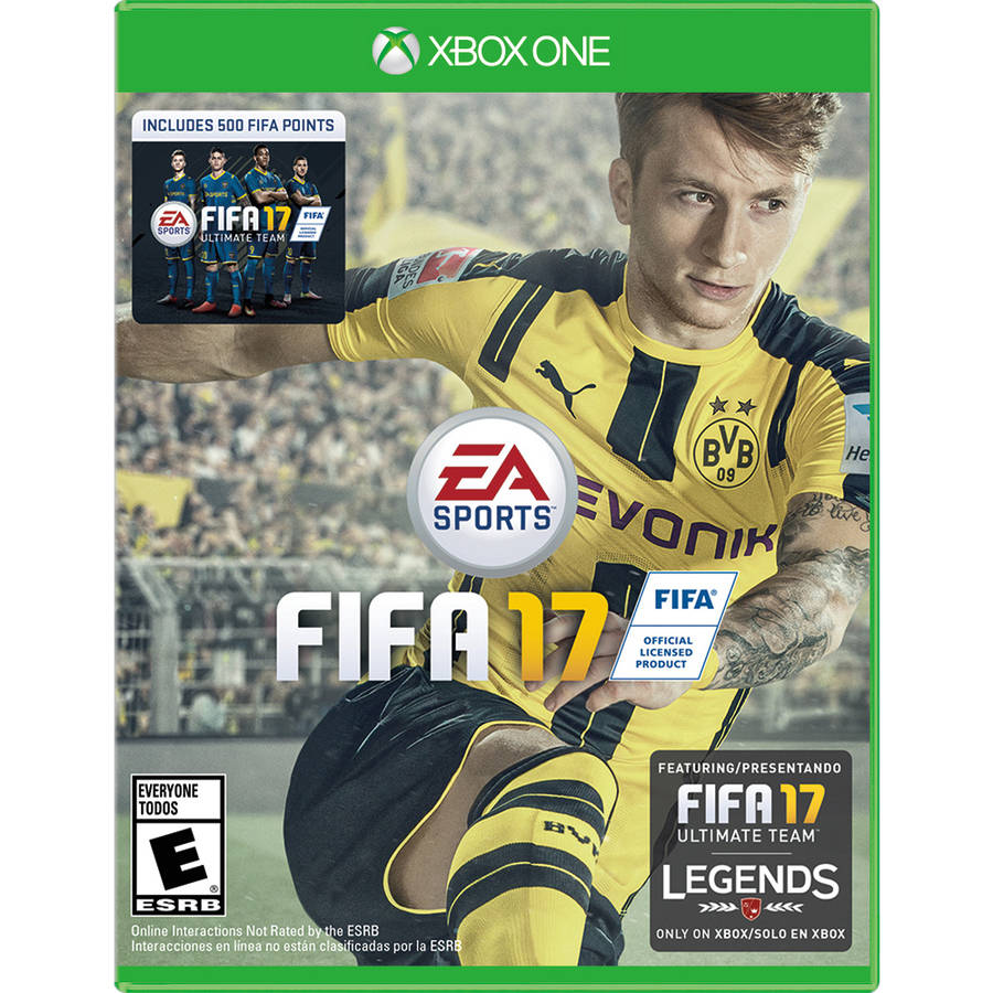 FIFA 17 (Xbox One) with Bonus 500 FIFA Ultimate Team Points