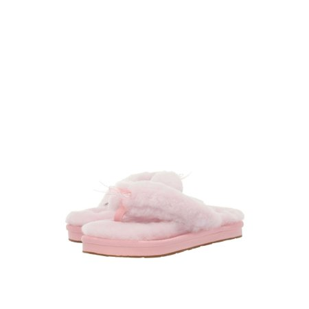 UGG Fluff Flip Flop III Women's Sheepskin Slippers 1100250 ()