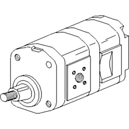 3147535r93 new hydraulic pump made to fit case-ih tractor models 433 533  633 + - walmart com