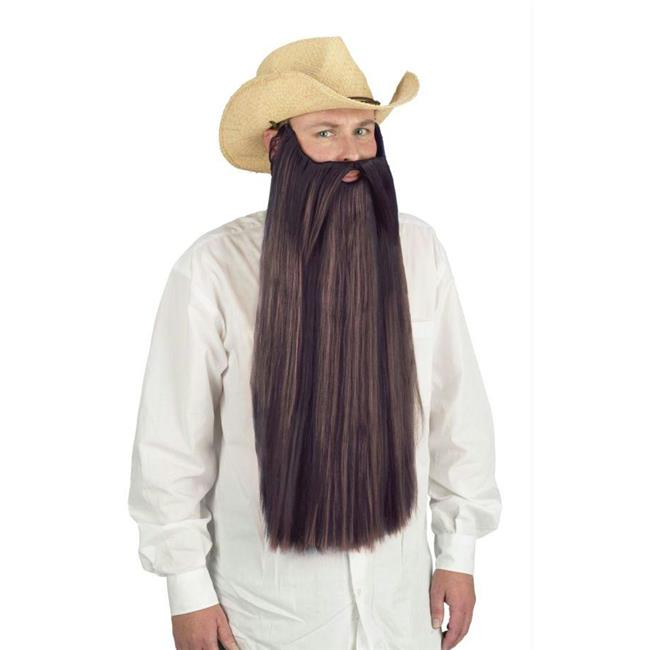 Costumes For All Occasions Fw90026Bn Beard W Mustache Brown - image 2 of 2