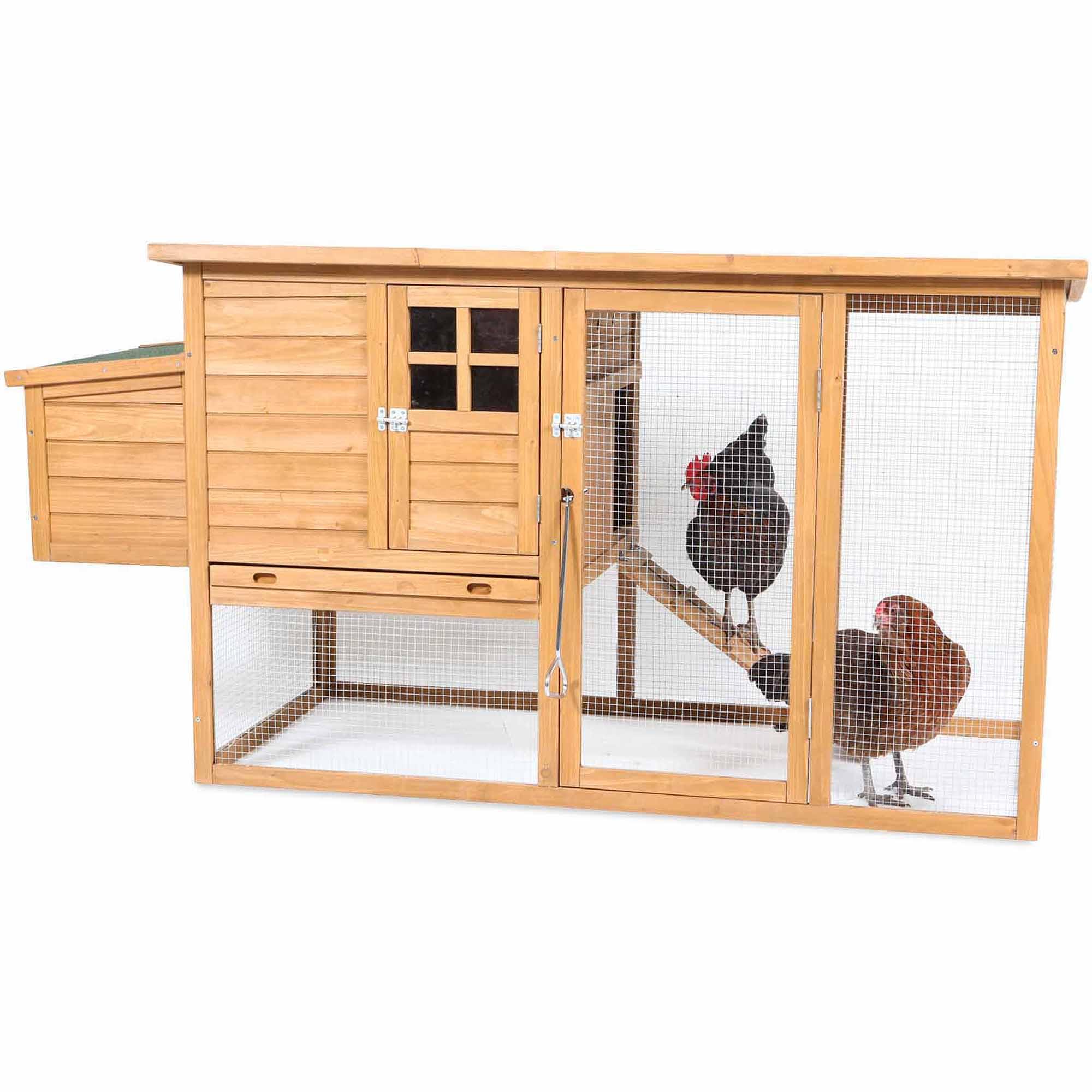 Flat-Top Complete Chicken Coop