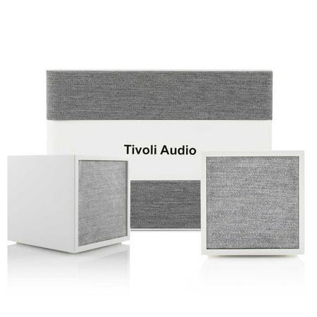 Tivoli Audio CUBE Wireless Speakers (Pair) with ART Model Sub Wi-Fi Subwoofer