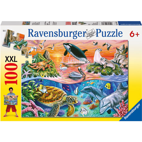 Ravensburger Beautiful Ocean Puzzle, 100 Pieces