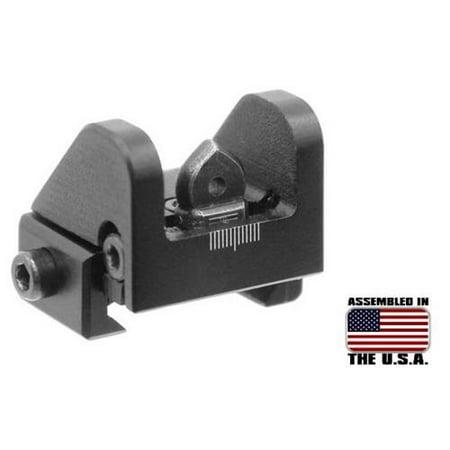 Leapers Inc Sub-compact Rear Sight for Shotguns, .22 (Halloween 4 Shotgun)