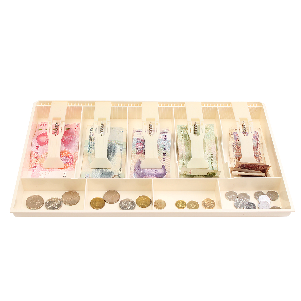 Cash Coin Register Insert Tray Replacement Money Drawer Storage