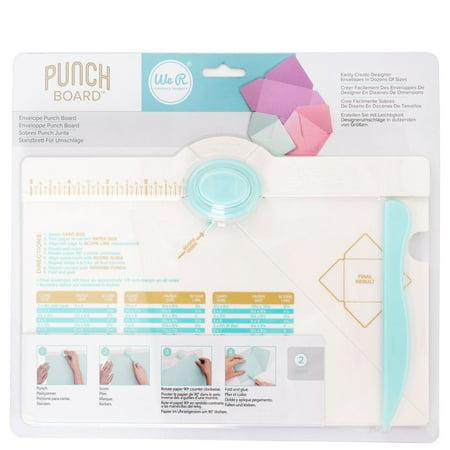 Envelope Punch Board by We R Memory Keepers. The Easiest Envelope Maker