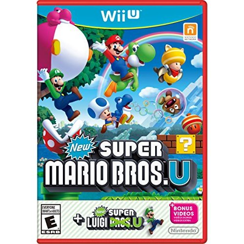Refurbished New Super Mario Bros U New Super Luigi U Wii U With Case