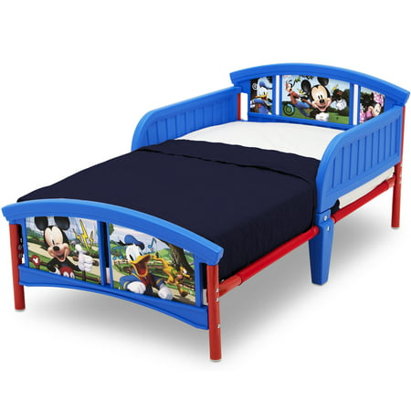 Delta Children Disney Mickey Mouse Plastic Toddler Bed, Multiple Characters