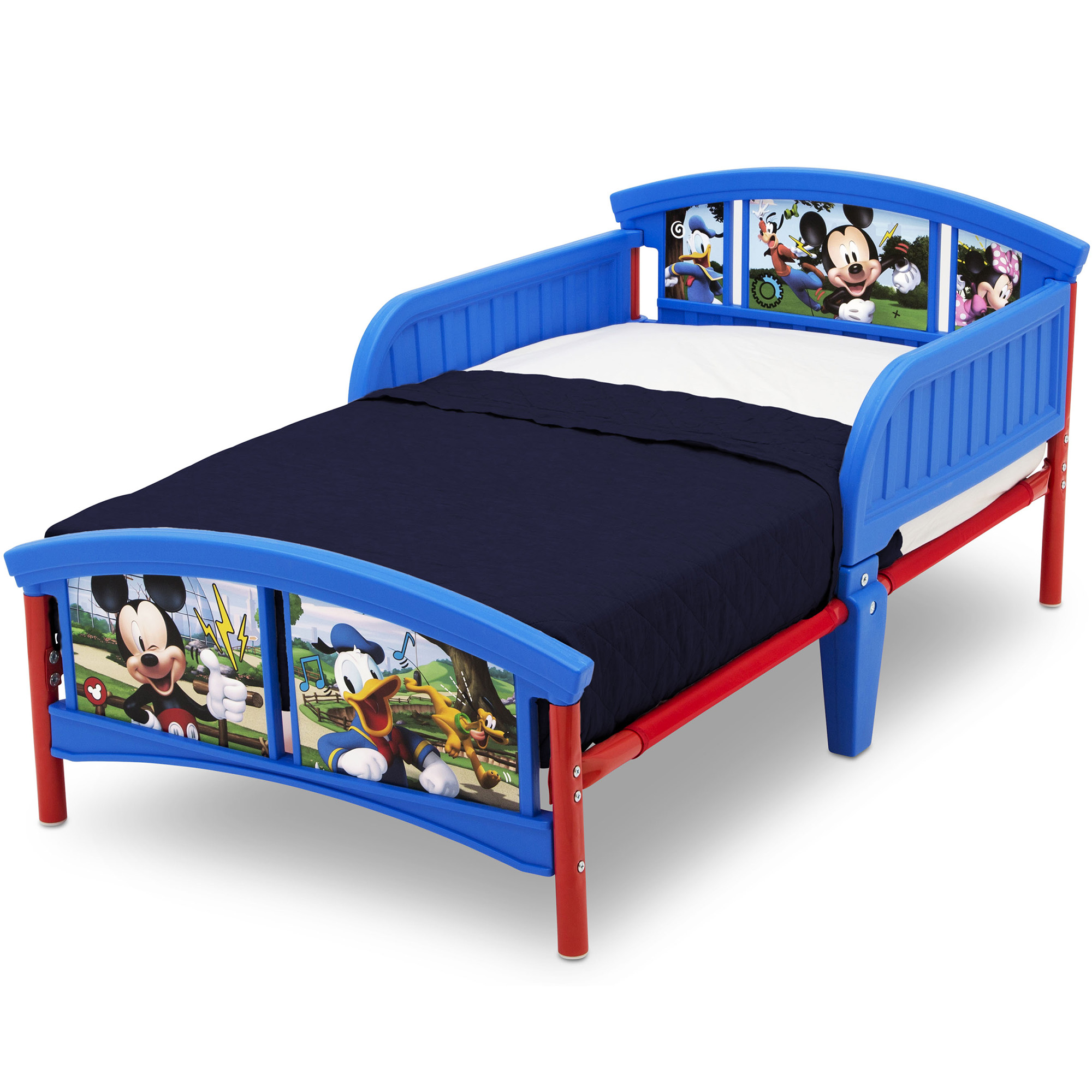 Delta Children Disney Mickey Mouse Plastic Toddler Bed