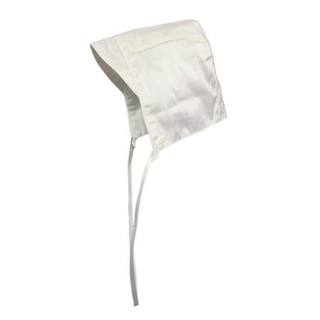 Little Things Mean A Lot Baby Boys Off-White Silk Dupioni Christening Hat 18-24M Little Things Mean A Lot Lace Bonnet
