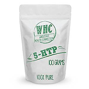 5 Htp Powder 100G  1000 Servings    Nootropic   Boost Serotonin   Mood Support   Natural Antidepressant   Appetite Suppressant   Sleep Aid   Enhance Happiness