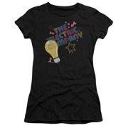 Electric Company Electric Light Juniors Short Sleeve Shirt