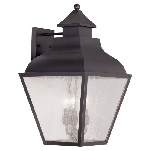Livex Lighting 2454 Vernon Large Outdoor Wall Sconce with 3 Lights