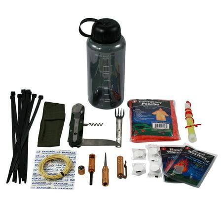 Camping Camper - ASR Camper Survival Bottle Emergency Outdoor Camping Hiking Essential Kit