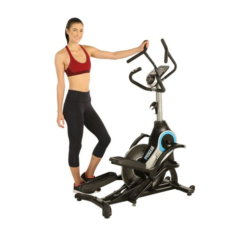 PROGEAR 9900 HIIT Bluetooth Smart Cloud Fitness Crossover Stepper/ Elliptical Trainer with Goal Setting and Free App