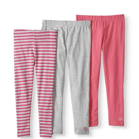 c3cd96cbae6b6 Limited Too - Baby Toddler Girl Striped Leggings, 3-pack - Walmart.com