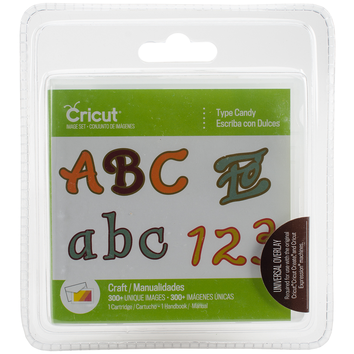 Cricut Font Cartridge Candy
