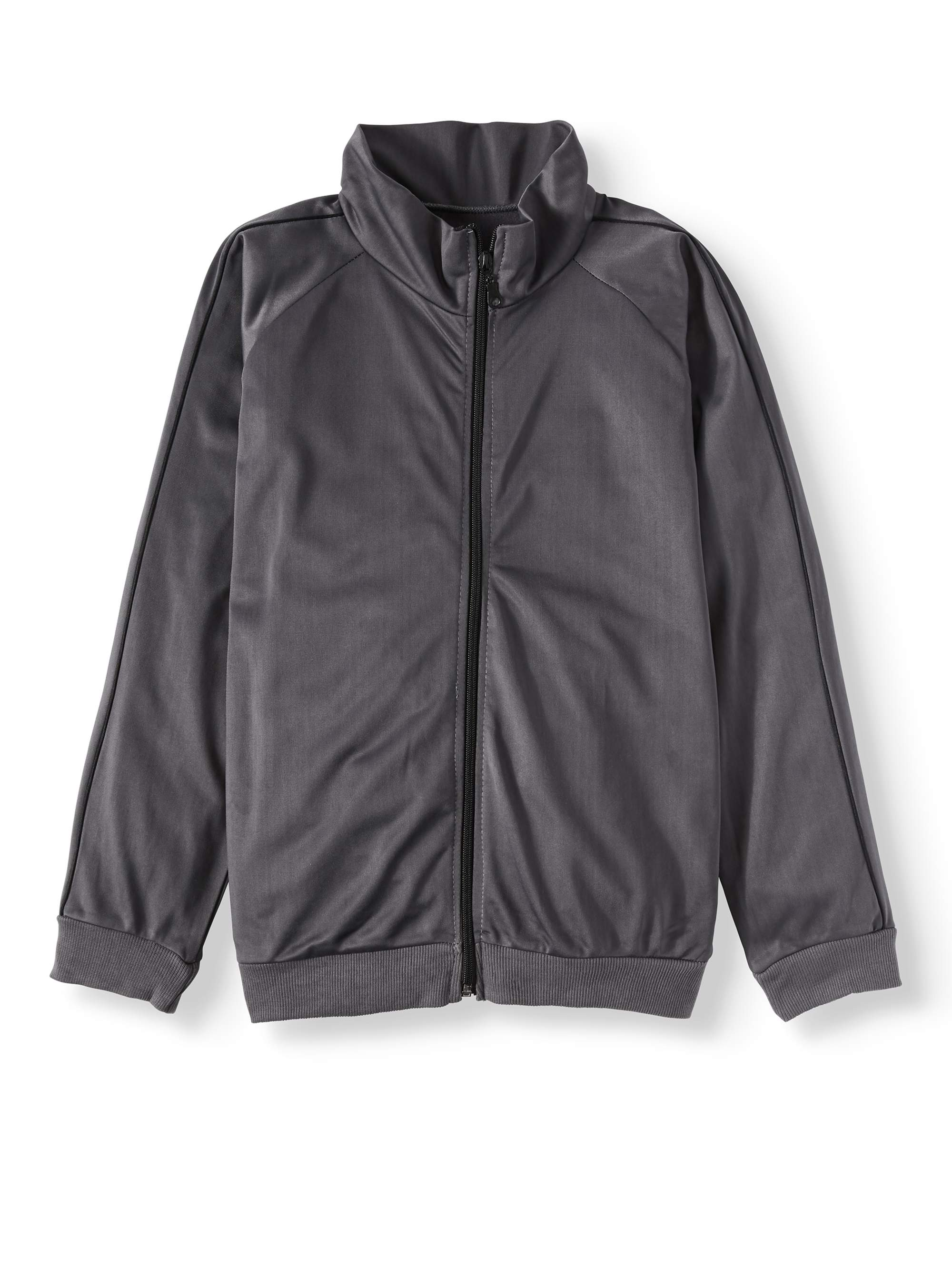Tricot Performance Zip Up Track Jacket (Big Boys)