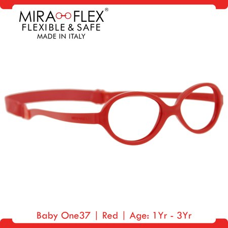 Miraflex: Baby One37 Unbreakable Kids Eyeglass Frames | 37/14 - Red ...