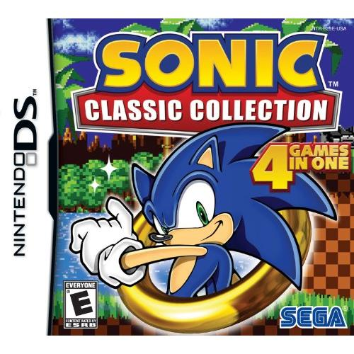 Sega Sonic Classic Collection Action/adventure Game - Nintendo Ds (67035)