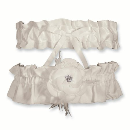 Ivory Bridal Garters - Ivory Somerset Bridal Garter Set Fashion Jewelry Ideal Gifts For Women Gift Set From Heart