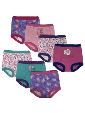 Handcraft Peppa Pig Girls Potty Training Pants Panties Underwear Toddler 7-Pack Size 2T 3T 4T